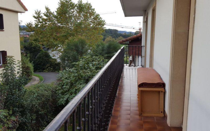 Campiña Saindua balcón con orientación sur