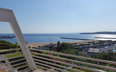 Piso con terrazas y vistas